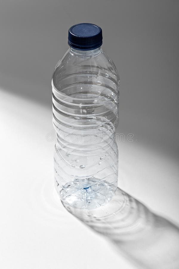 Empty Mineral water plastic bottle royalty free stock photo