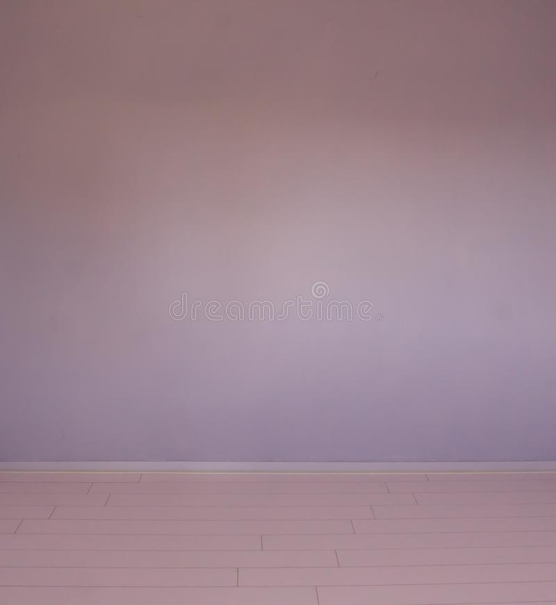 Empty modern style chamber room purple stone wall background very rustic stock photo