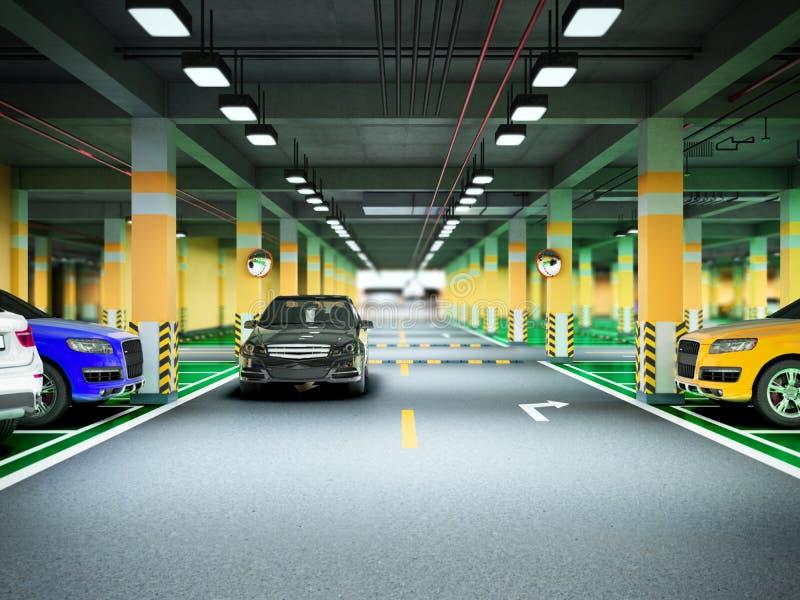 3d Basement Car Park Stock Illustrations – 39 3d Basement Car Park