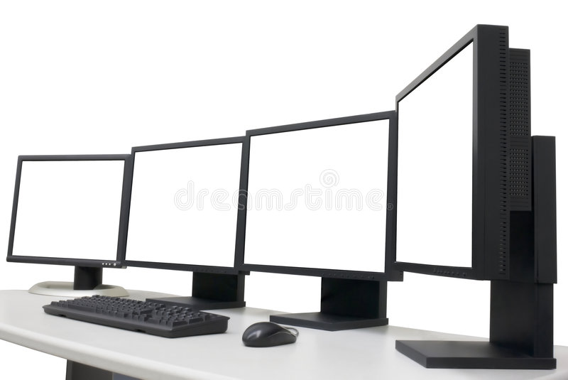 Empty monitors. For your pictures