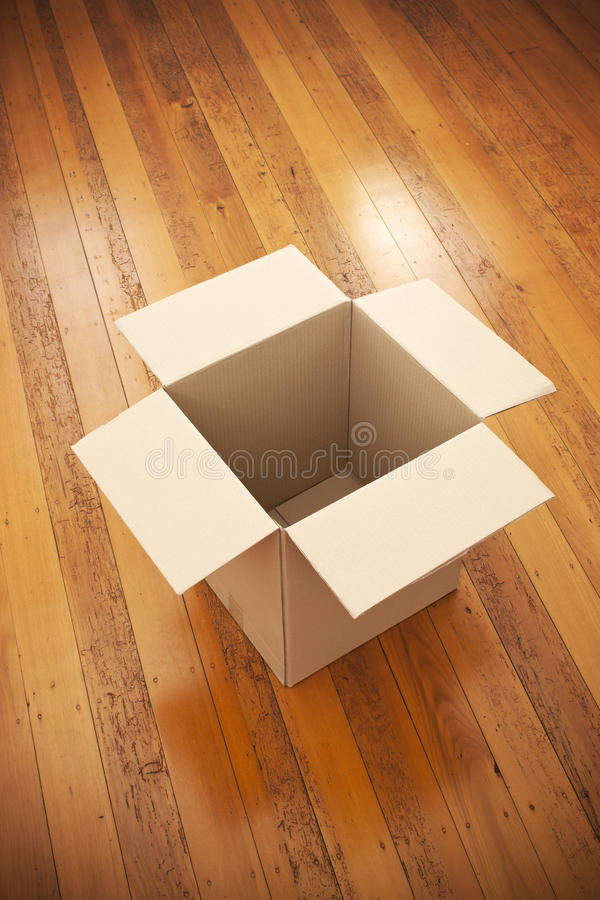 Download Empty Moving Box Background Stock Photo - Image: 27416674