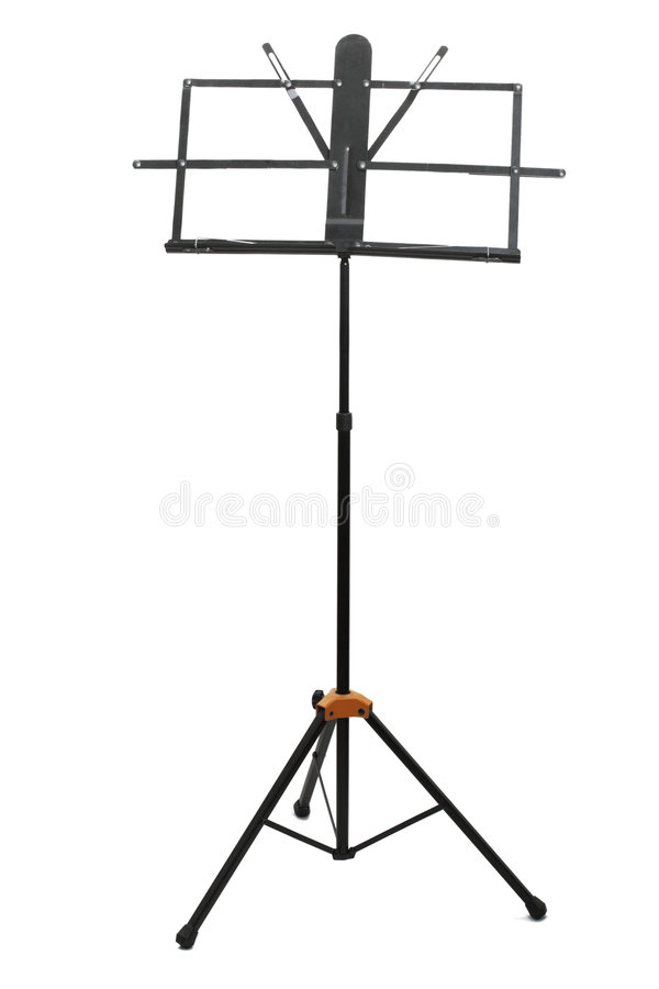 Free Empty Music Stand Isolated Royalty Free Stock Photos - 8186828