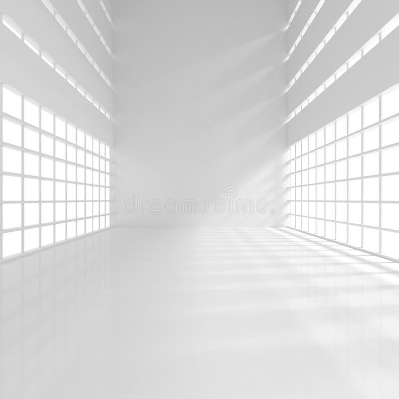 Empty Narrow Room royalty free stock images