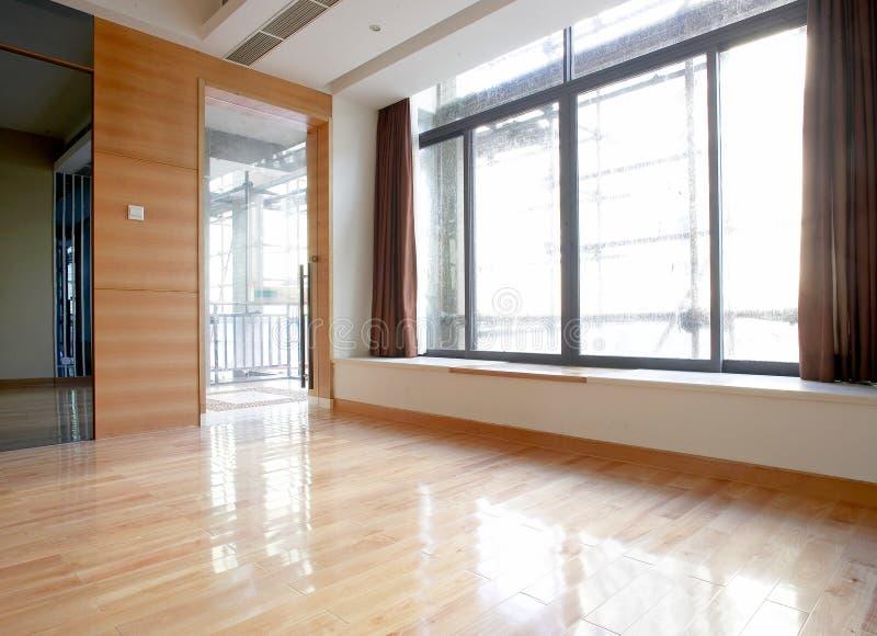 Empty new room stock image