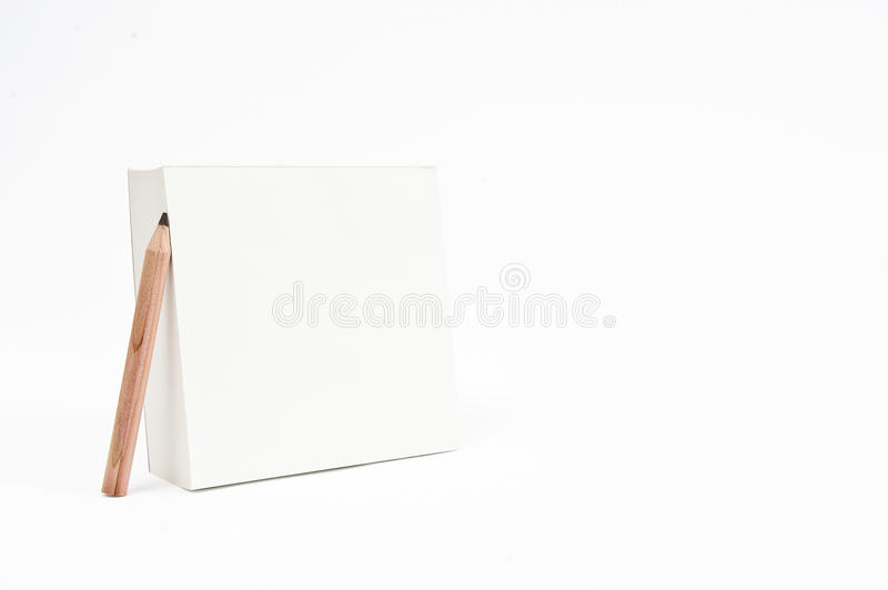 Empty Notepad With Pencil