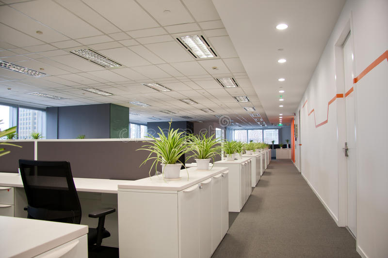 Empty office royalty free stock photography