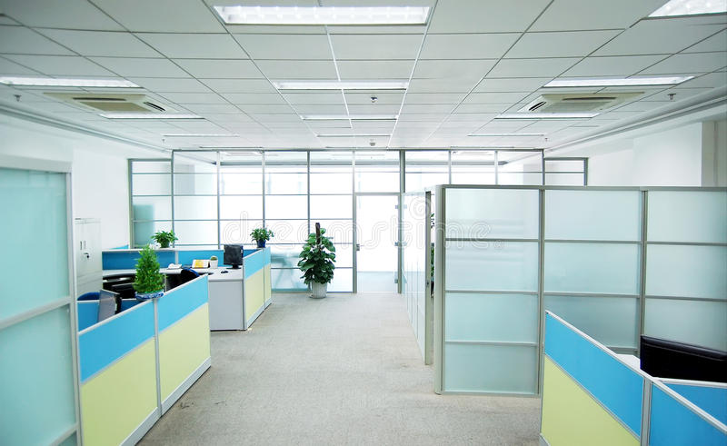 Empty office stock photography