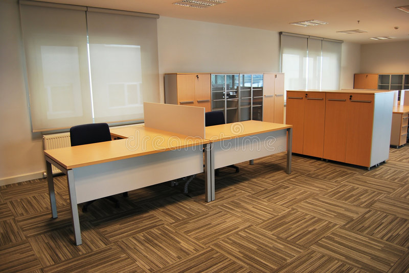 Empty office royalty free stock images