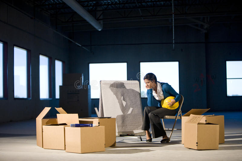 Download Empty office space stock image. Image of young, renovating - 10707479