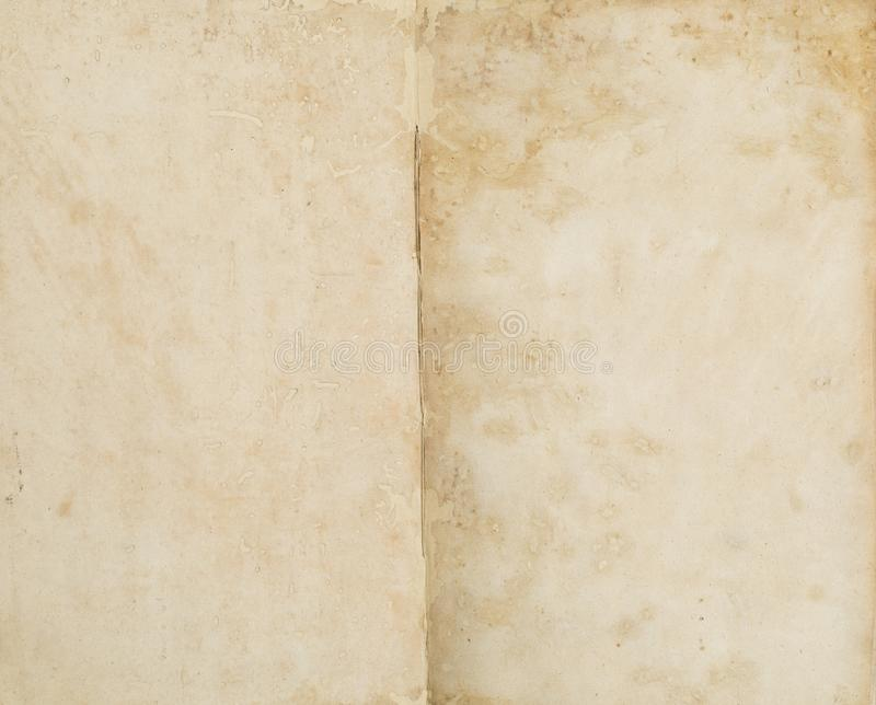 Empty old paper space. With pattern royalty free stock images