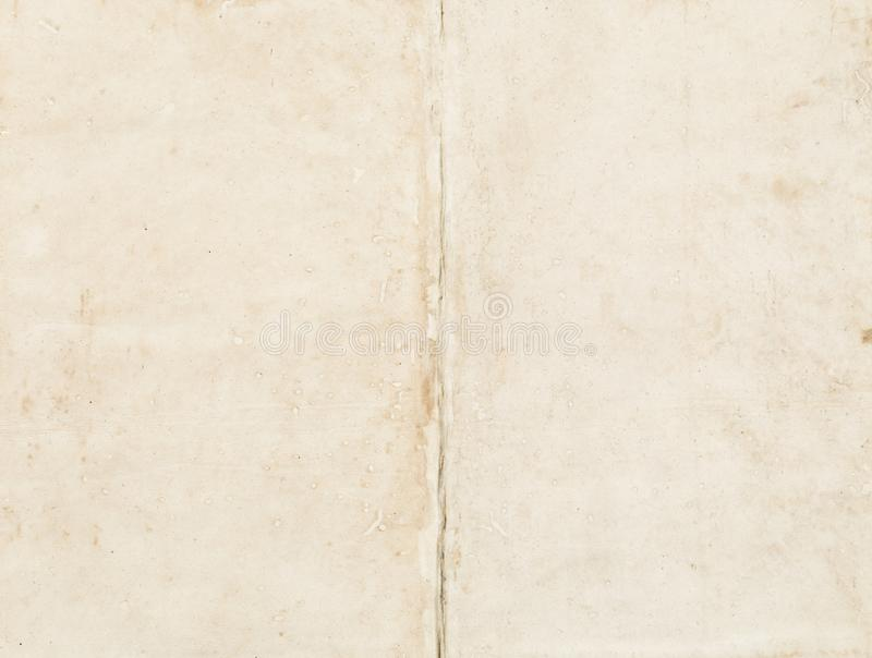 Empty old paper space. With pattern royalty free stock photo