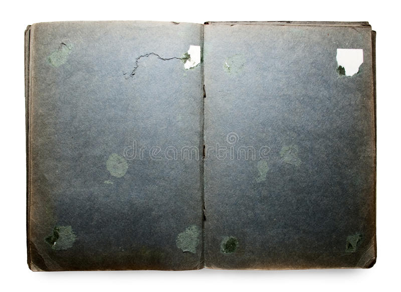 Download Empty Old Scrapbook Royalty Free Stock Photos - Image: 15494578