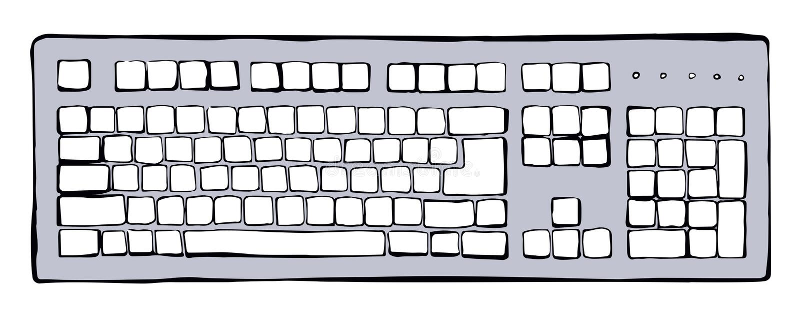 Drawing Keyboard Mac Stock Illustrations – 49 Drawing Keyboard Mac