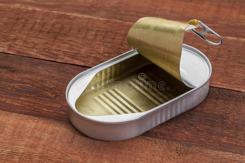 Download Empty open tin can stock photo. Image of container, rustic - 29832546