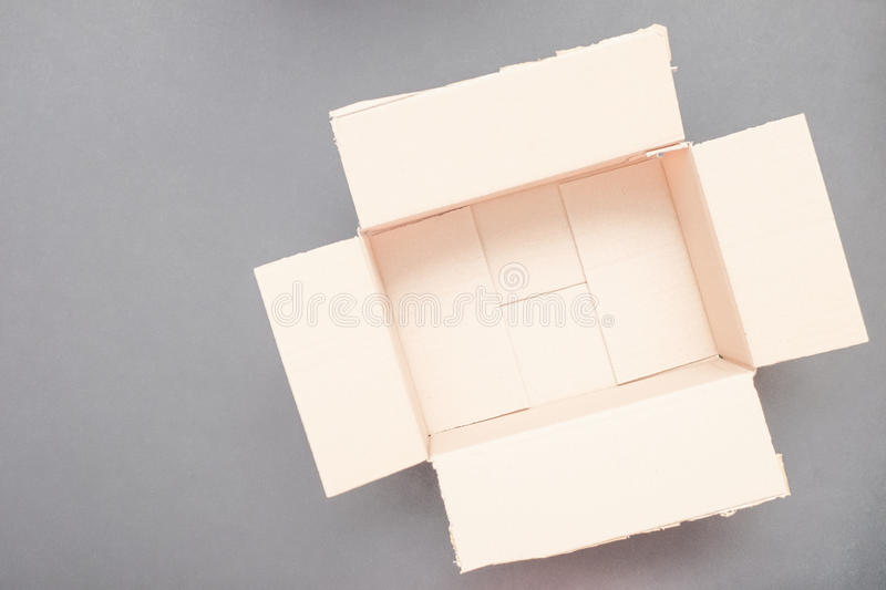 Empty package royalty free stock photography