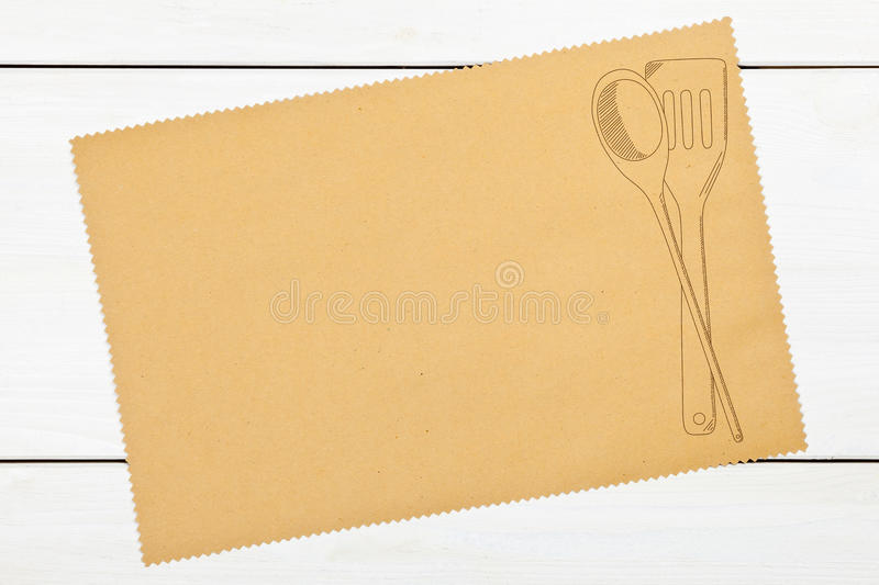 Recipe Background Royalty Free Stock Image