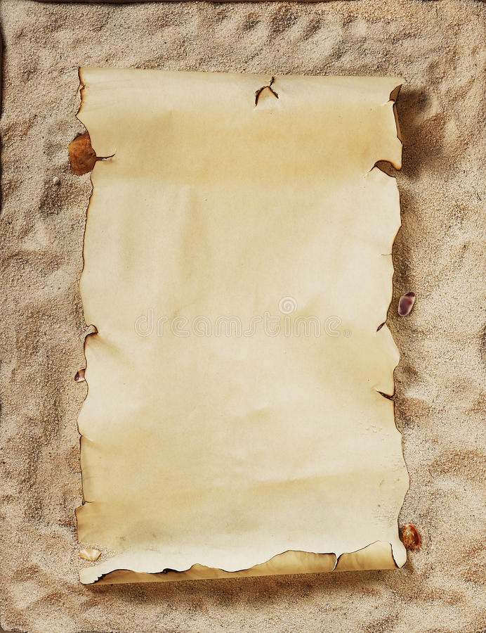 Download Empty parchment stock illustration. Illustration of texture - 13273796