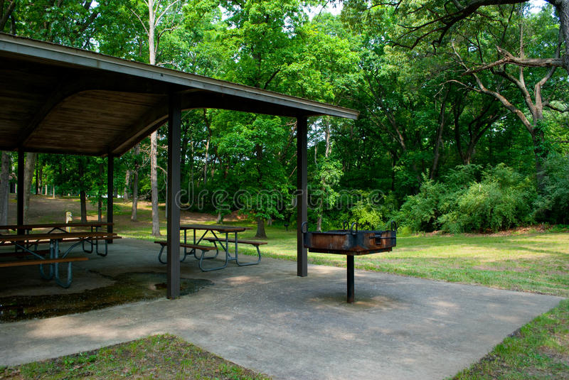 Download Empty Park Pavilion stock photo. Image of woods, empty - 25019734