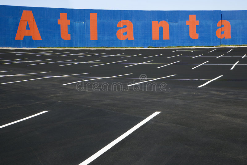 Download Empty parking lot stock photo. Image of city, urban, outdoors - 2051870