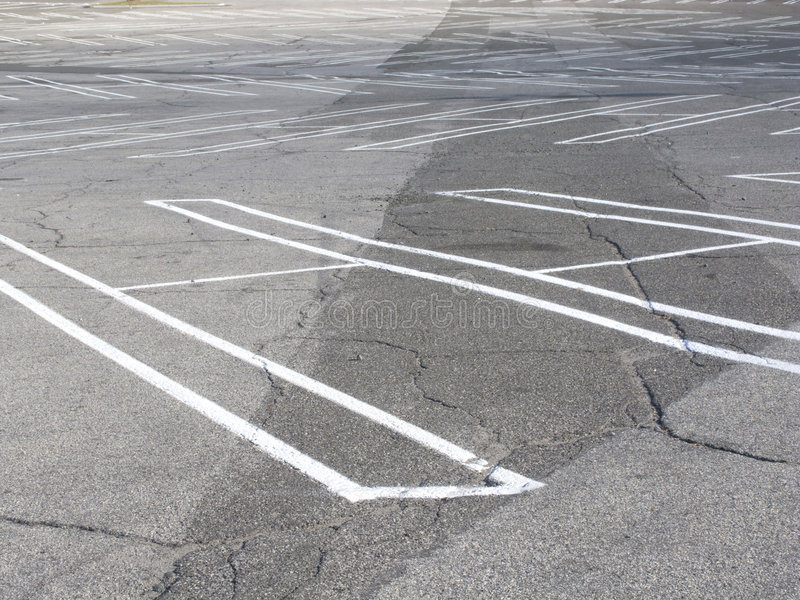 Download Empty parking lot stock photo. Image of distant, many - 7202906