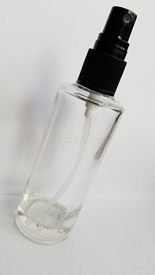download empty perfume spray bottle transparent glass stock photo image