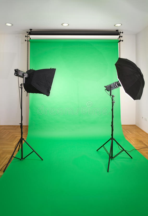 Download Empty Photo Studio stock image. Image of color, indoors - 25035743