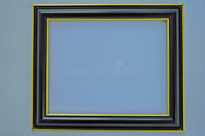 Empty Picture Frame stock photography