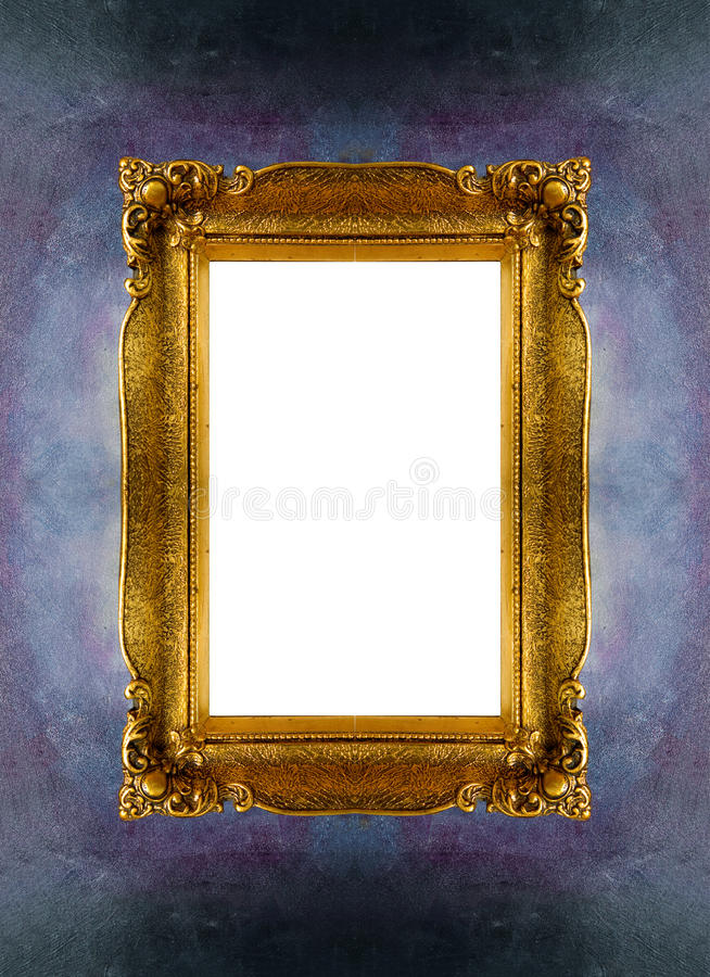 Download Empty picture frame stock image. Image of detail, designed - 28094375