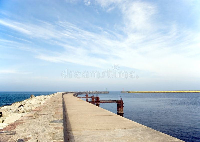 Download Empty Pier. Stock Photo - Image: 2059770