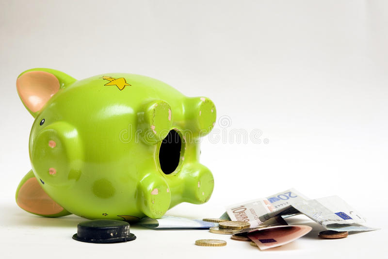 Download Empty Piggy Bank Royalty Free Stock Photos - Image: 12675178