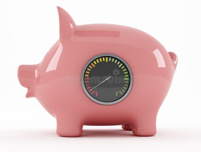 Download Empty piggy bank stock illustration. Illustration of bankruptcy - 22877511