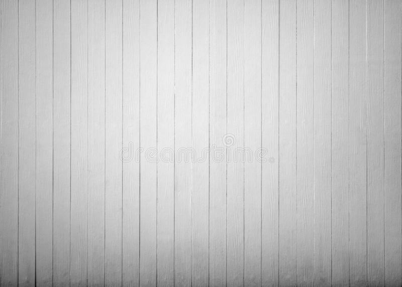 Empty plank of vintage white wooden wall texture background stock image