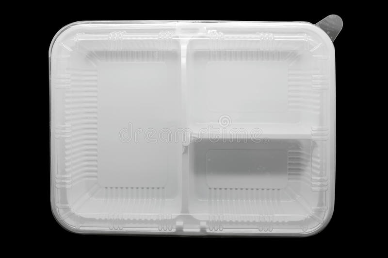 Empty plastic tray royalty free stock images