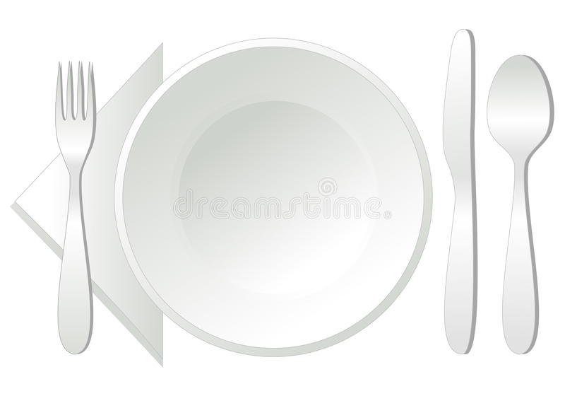 Download Empty Plate, Stock Image - Image: 19073651