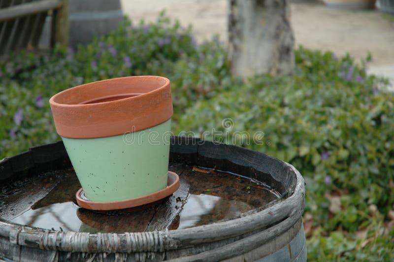 Empty Pot stock photos