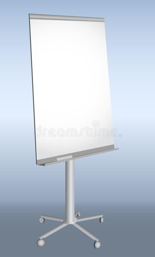 Download Empty Presentation Flip-chart Stock Vector - Image: 21737317
