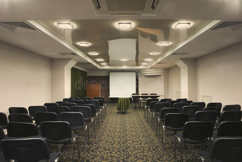 Empty Presentation Room royalty free stock photo