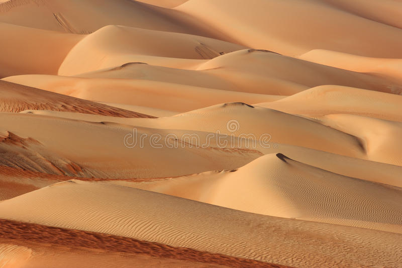 Empty Quarter Abstracts royalty free stock photo