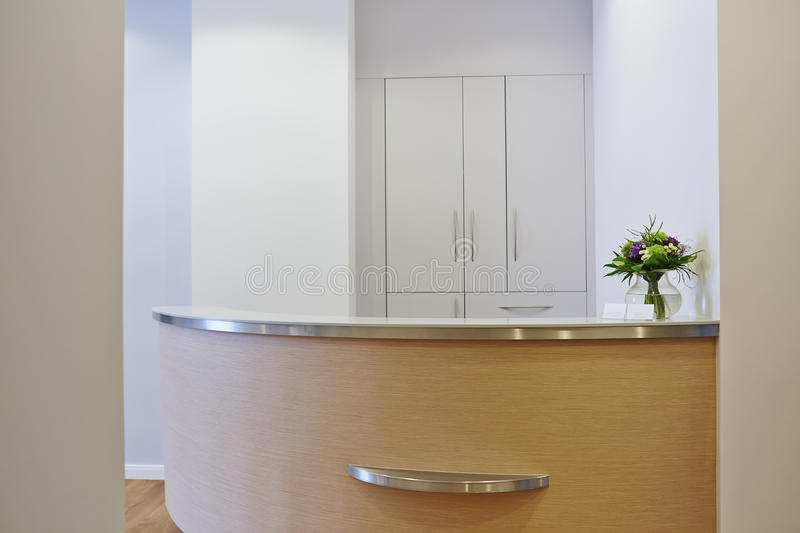 Download Empty Reception At Doctors Office Stock Photo - Image: 33420068