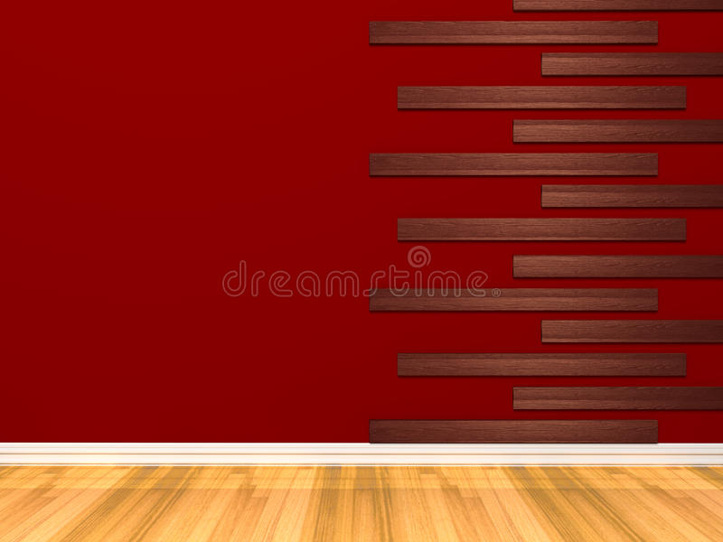 Download Empty Red room stock illustration. Illustration of material - 43450375