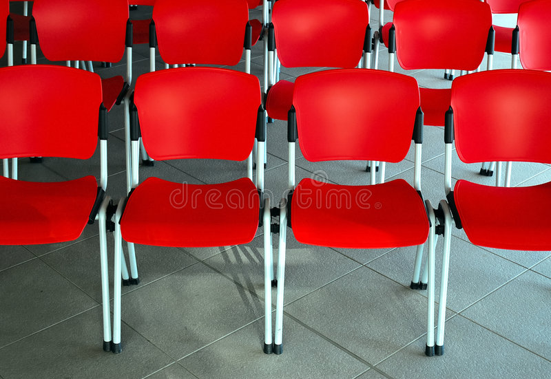 Download Empty red seats stock photo. Image of communication, business - 1874942
