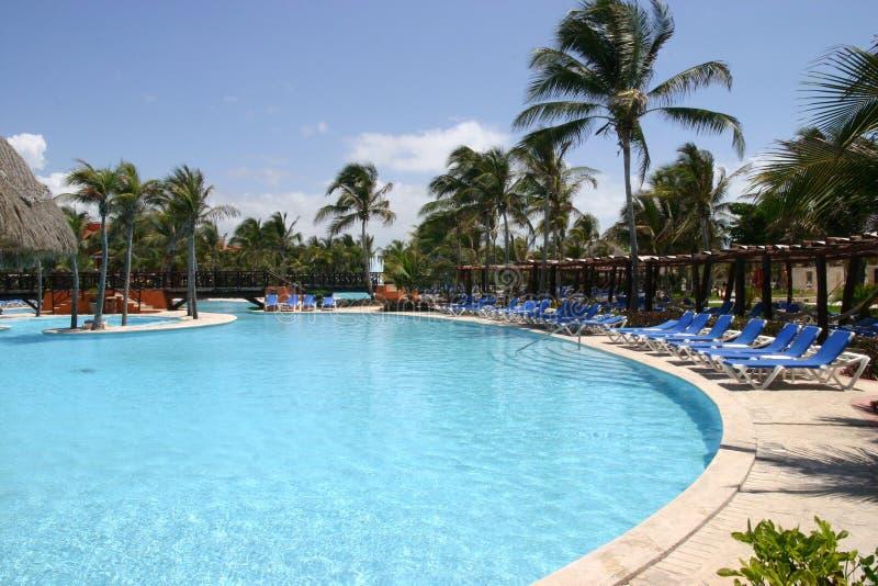 Download Empty resort pool stock image. Image of caribbean, empty - 10783623