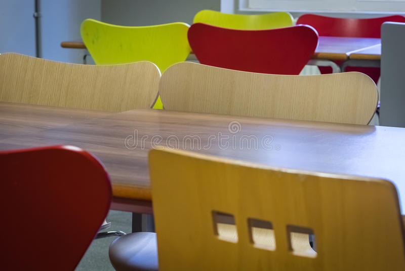 Empty restaurant royalty free stock images