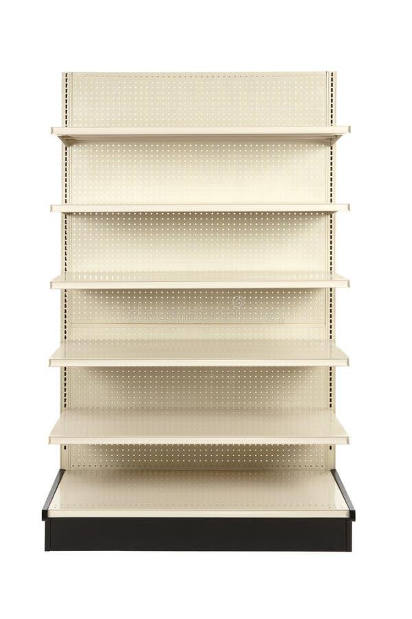 Free Empty Retail Store Shelf Royalty Free Stock Photo - 16893305