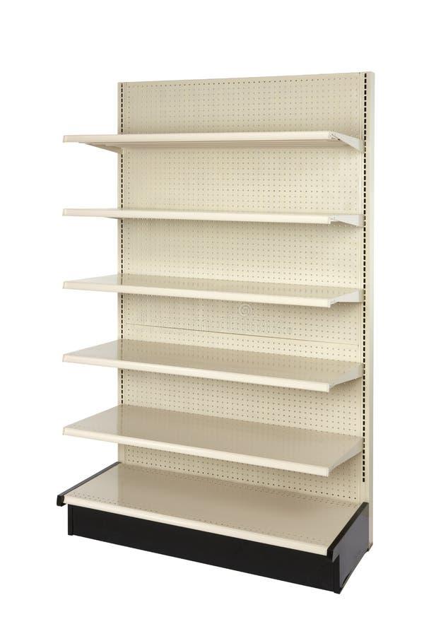 Free Empty Retail Store Shelf On Angle Royalty Free Stock Image - 16893296