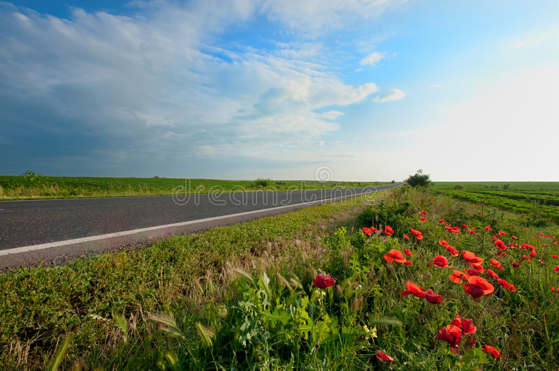 Download Empty Road Stock Image - Image: 27600951