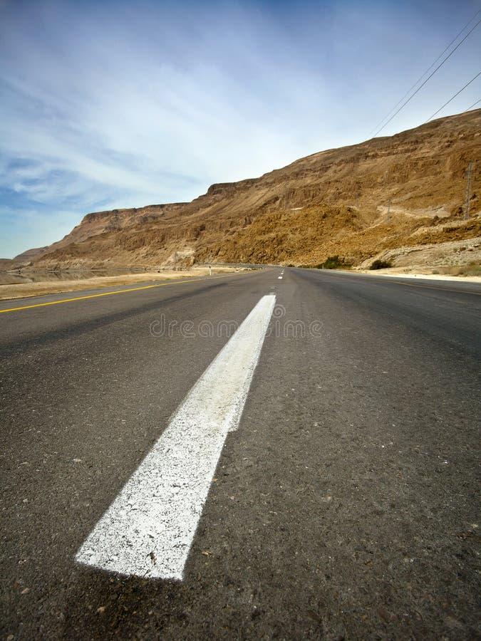 Desert Asphalt Road stock photography