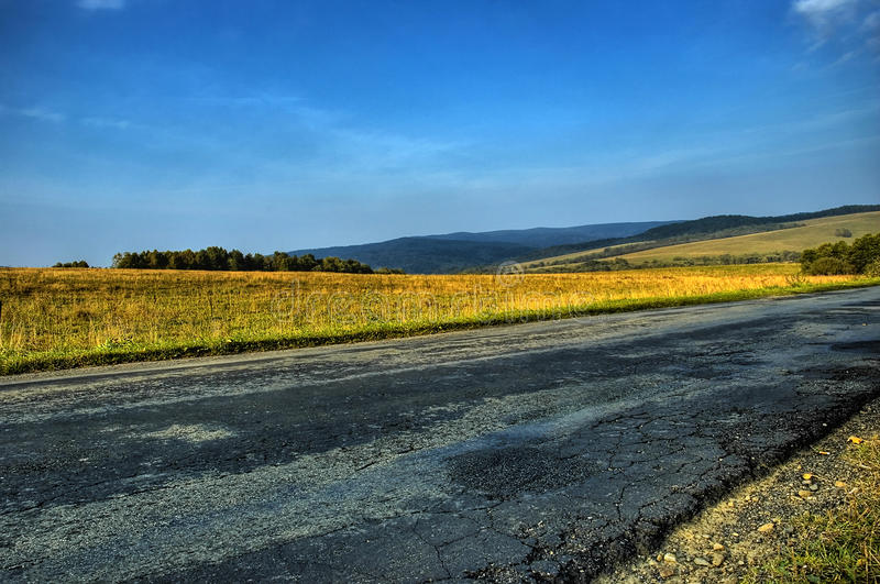 Download Empty road hdr stock image. Image of direction, countryside - 12333703