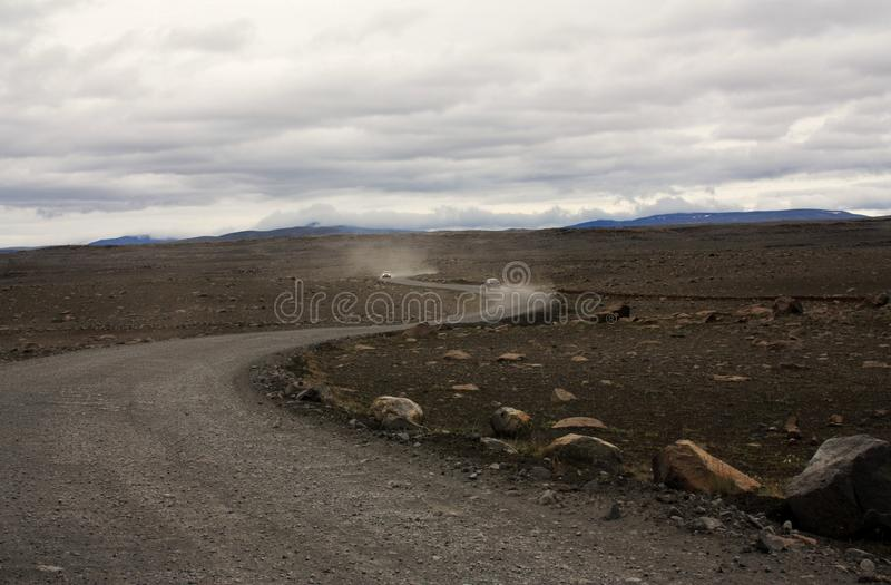 Download Empty Road in Iceland stock image. Image of daytime, danger - 15752065