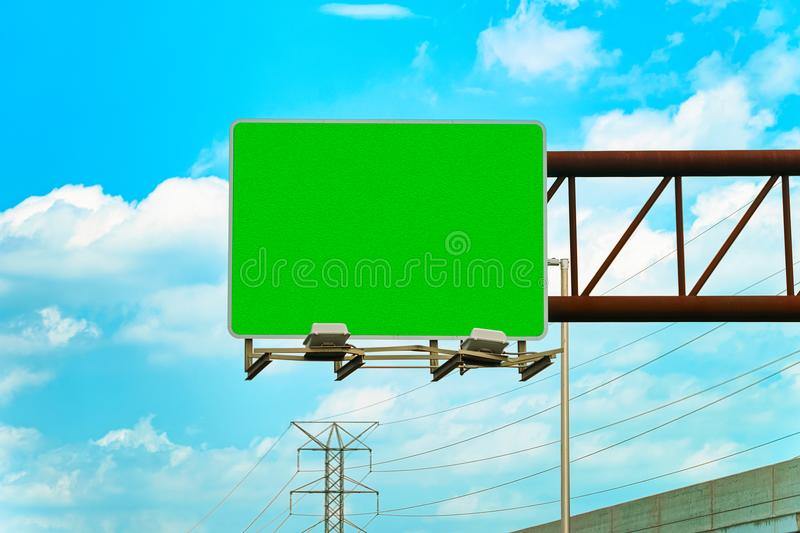 Empty Road indicator plate in New Jersey. USA stock photography